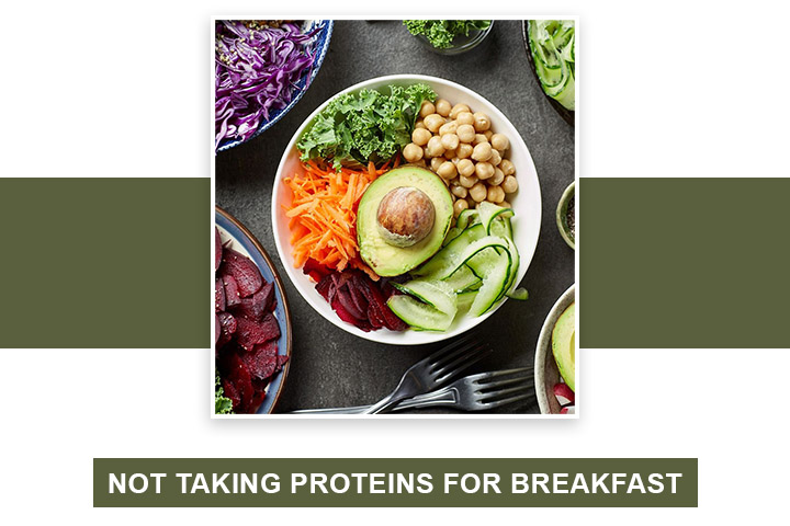 Not Taking Proteins for Breakfast
