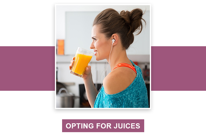 Opting for Juices