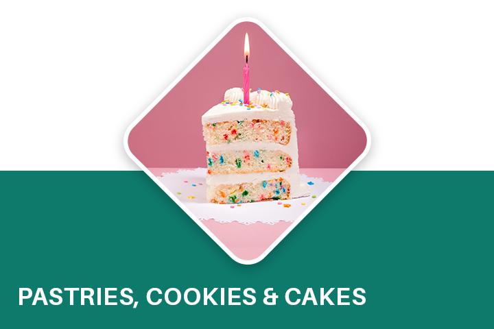 Pastries,cookies & cakes