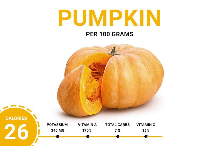 Pumpkin Calories 26