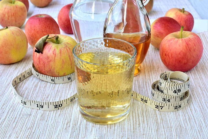 apple cider vinegar detox water for weight loss
