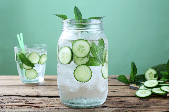 cucumber detox water for weight loss