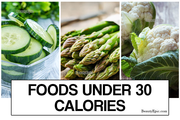 Top 20 Healthy Foods Under 30 Calories