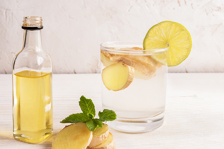 ginger and lemon detox water for weight loss
