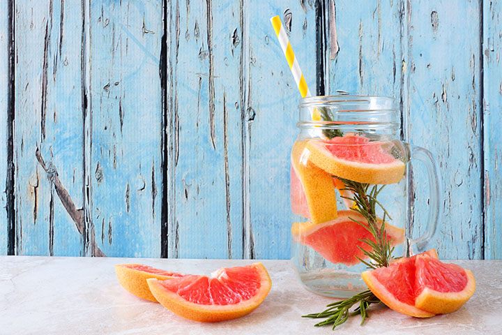 grapefruit detox water for weight loss