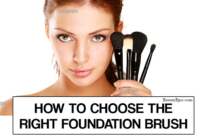 How to Choose The Right Foundation Brush?