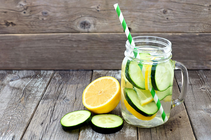 lemon cucumber detox water for weight loss