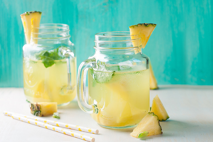 pineapple detox water for weight loss