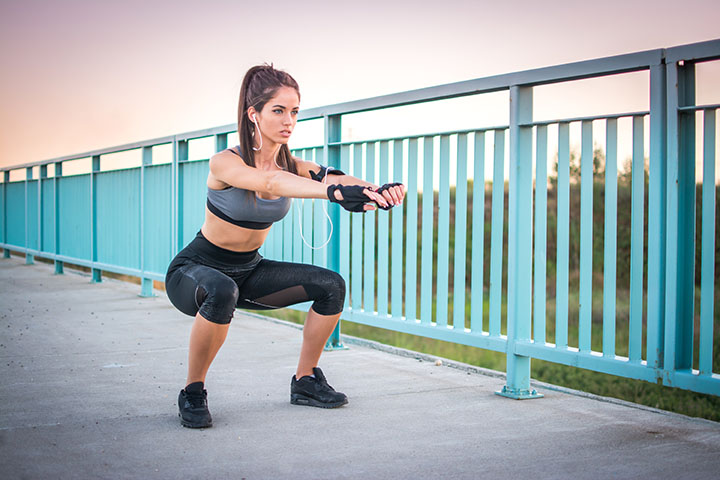 squats for slim thighs