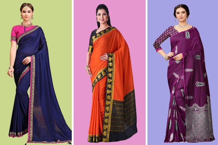 Kanjivaram Sarees : 40 Traditional Kanjivaram Sarees for women