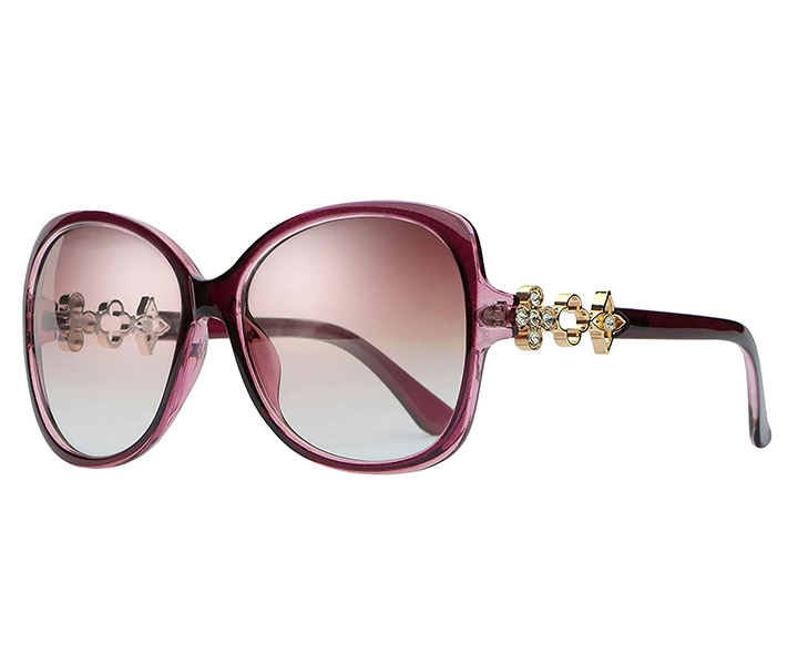 EFASHIONUP Eyewear Uv Protected Oval Sunglasses For Women