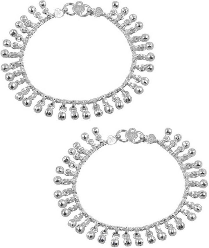 Jewel99 Cocytus Silver Anklet