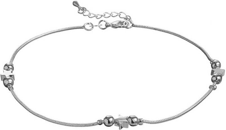 Silver Shoppee Sterling Silver Anklet