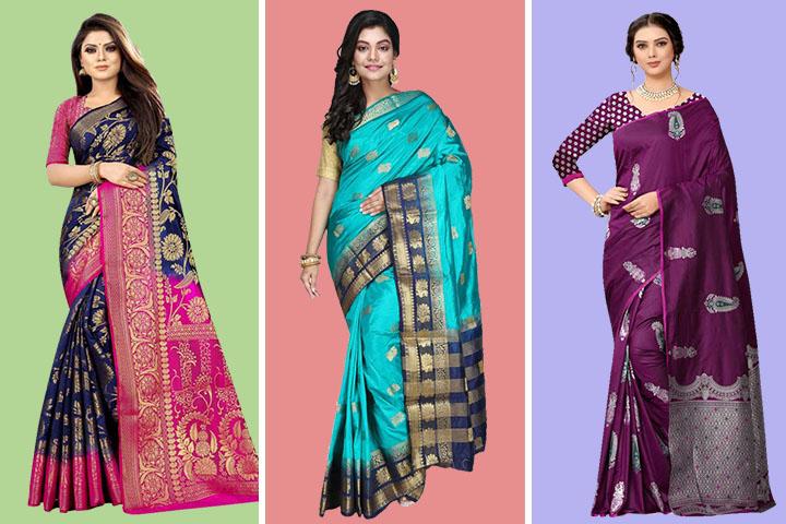 25 Unique Traditional Pure Silk Kanjivaram Sarees