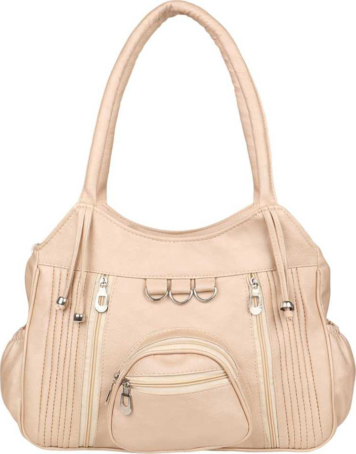 Women Beige Shoulder Bag