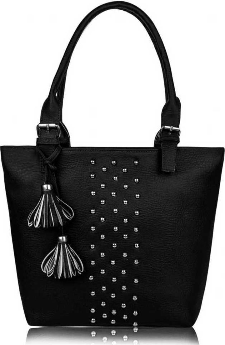 Women Black Hand-held Bag