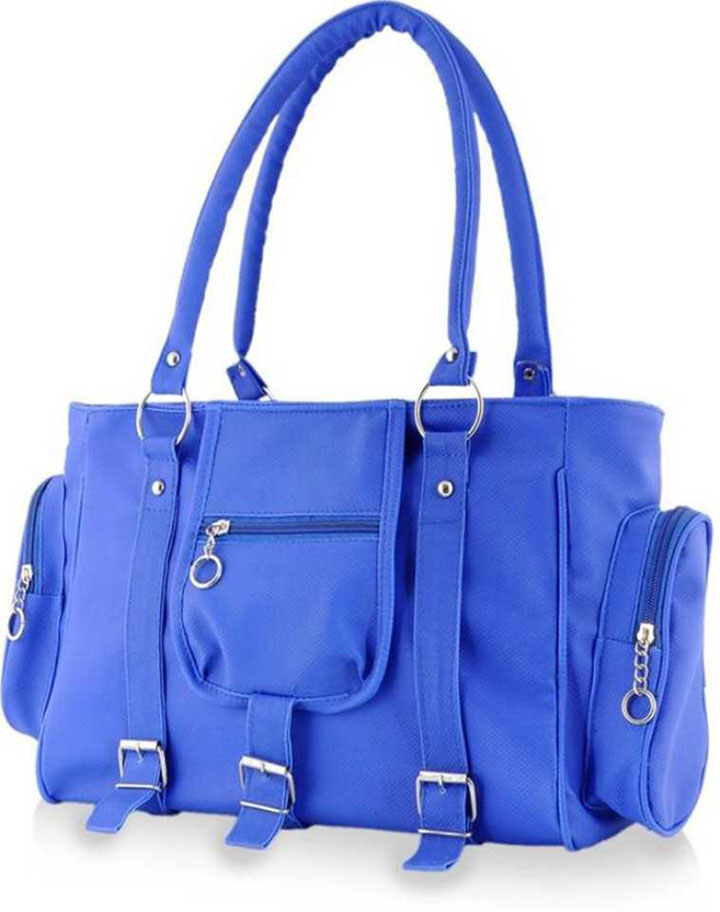 Women Blue Hand-held Bag