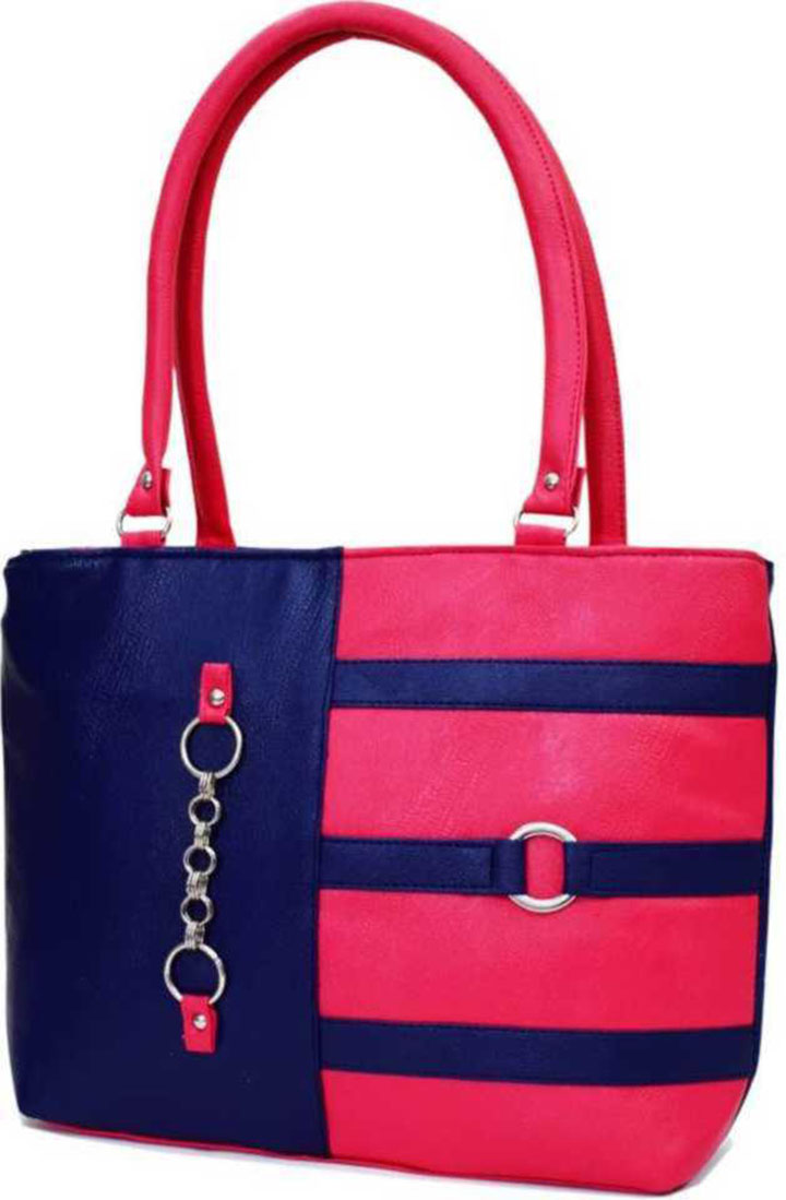 Women Blue Pink Shoulder Bag