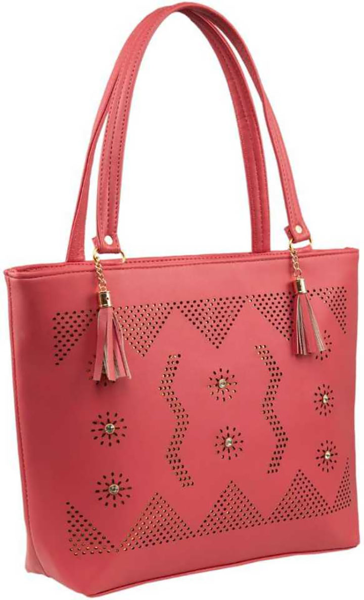 Women Pink Hand-held Bag