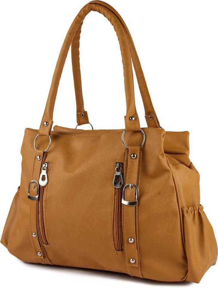Women Tan Shoulder Bag,