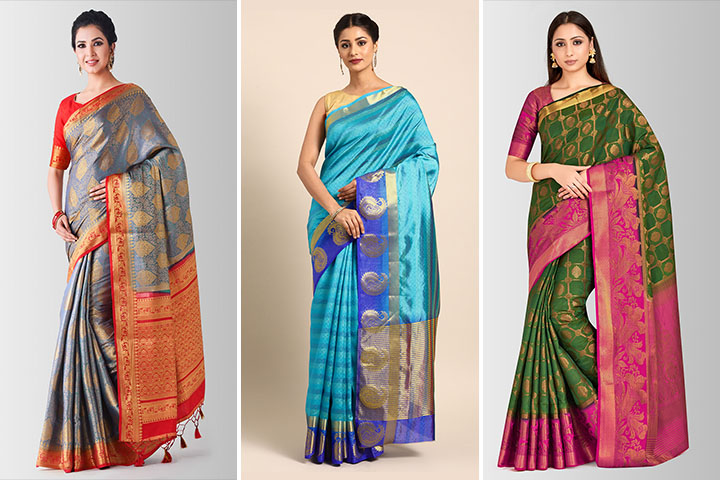 Top 20 Gorgeous Art Silk Sarees for Women