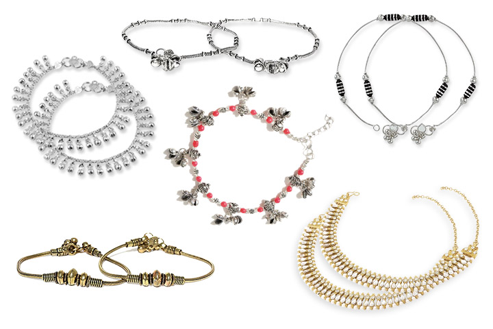15 Best Anklets Design for Women in India (2020)