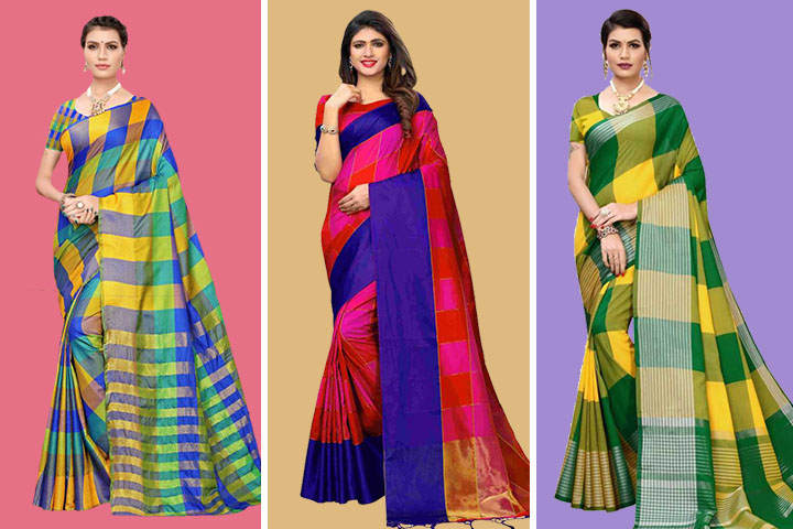 20 New Collection of Chettinad Cotton Silk Sarees That Will Suits To Every Occasion!