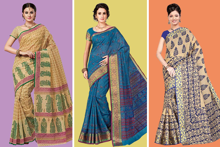 20 Beautiful Designs of Gadwal Cotton Blend Sarees for Your Style