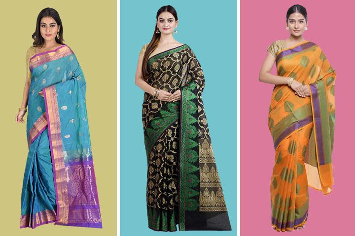 Top 15 Beautiful Gadwal Silk Saree Collections With Images
