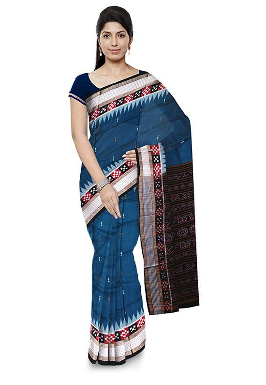 Bomkai Handloom Cotton Saree