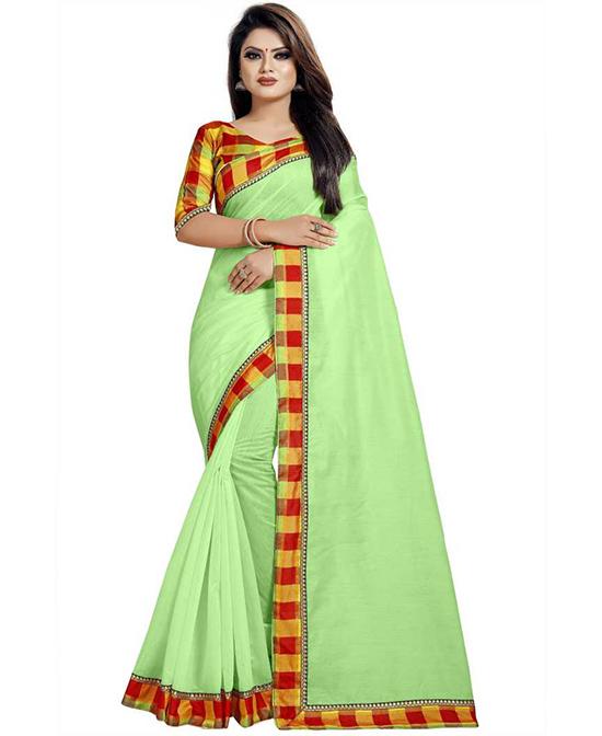 Chinnalapattu Cotton Silk Saree (Multicolor