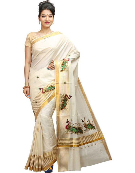Coimbatore Cotton Blend Saree