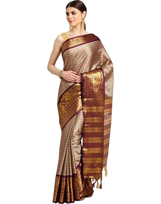 Coimbatore Poly Silk Saree