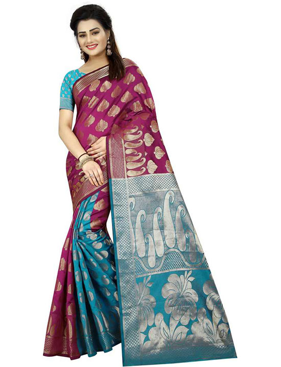 Coimbatore Poly Silk Saree