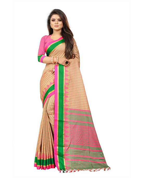 Coimbatore Pure Silk, Cotton Silk Saree