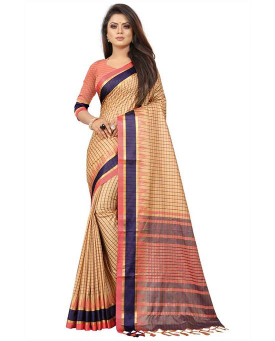 Coimbatore Pure Silk, Cotton Silk Saree