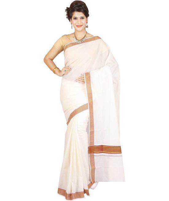 Cotton Blend Coimbatore Saree