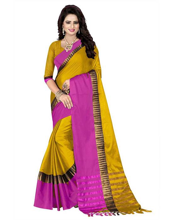Cotton Silk Coimbatore Saree
