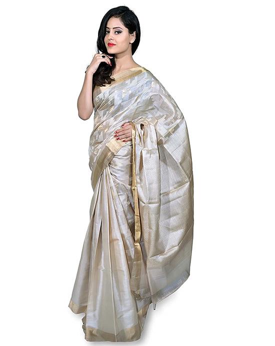 KOSA SAREE Classic Kosa Silk Handloom Saree