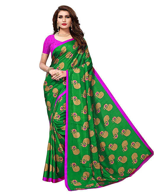 Kora Silk Saree with Blouse Piece