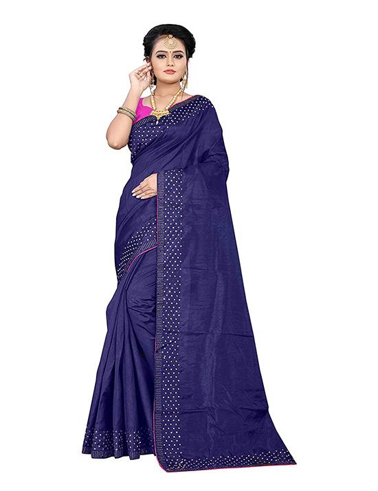 Kosa Jute Silk Saree With Blouse Piece