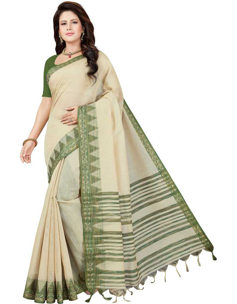 Kosa Silk Polyester Saree