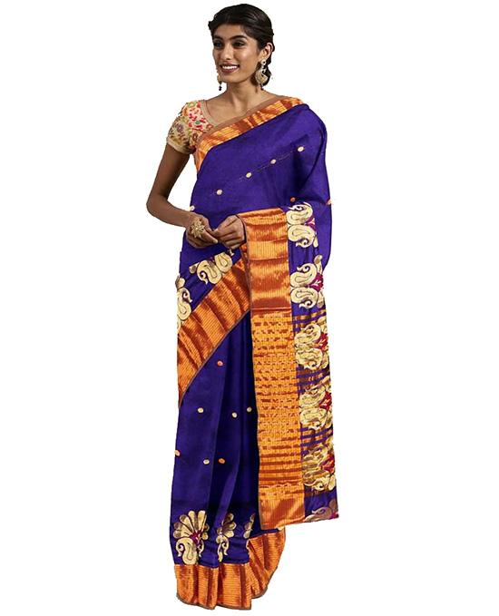 Molakalmuru Poly Silk Saree (Purple