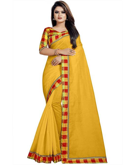 Multicolor Chinnalapattu Cotton Silk Saree