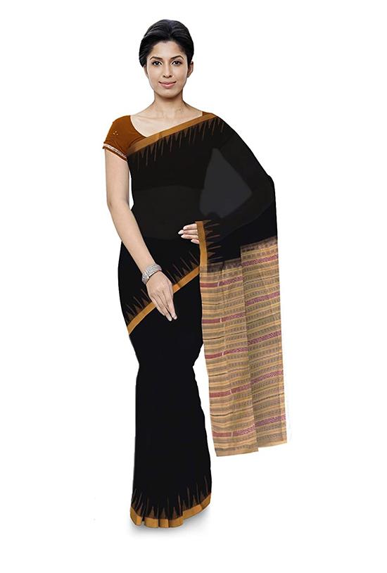 Sambalpuri Bomkai Handloom Cotton Saree for Women