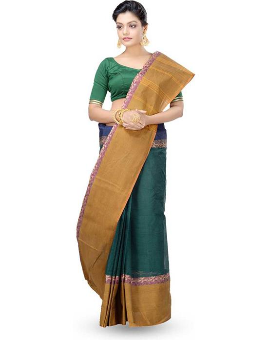 Tangail (Multicolor Pure Cotton Saree