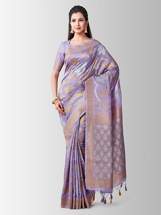 Woven Design Kanjeevaram Saree