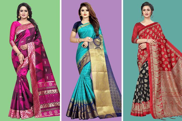 35 Beautiful Baluchari Sarees Collection