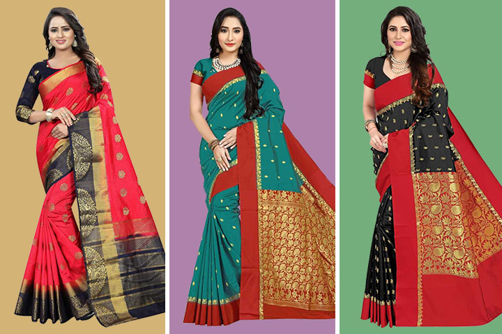 35 Trending Models of Garad Sarees That Match Your Style