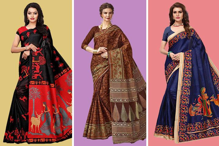 25 Latest Collection of Bhagalpuri Cotton Sarees at Best Prices